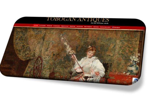 Accompagnement et mise en place référencement SEO Tobogan Antiques