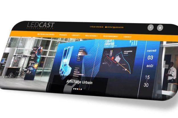 Refonte de site Ledcast